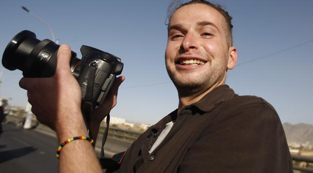 The father and sister of Luke Somers have pleaded for terror group al Qaida to free the captured photojournalist (AP)