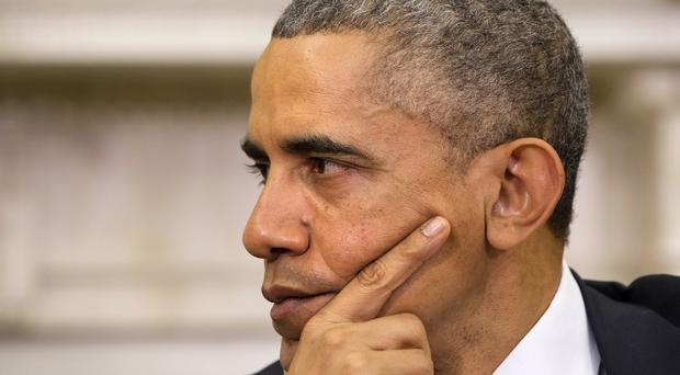 The White House insisted that the tests were not a matter of urgency for Mr Obama (AP)