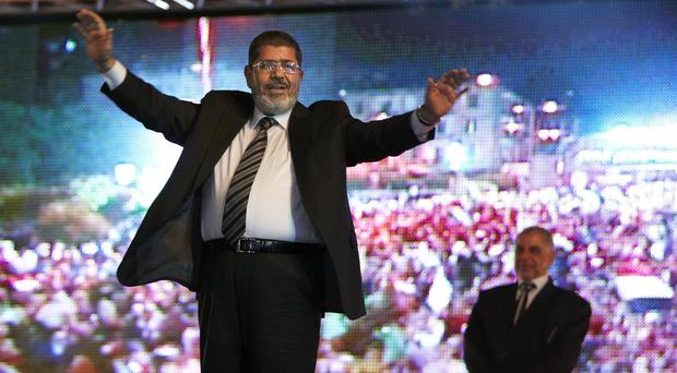 Mohammed Morsi was ousted as president