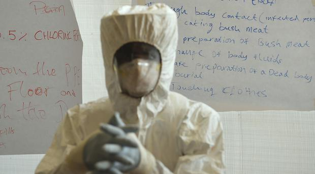 The ban on political rallies was imposed over fears they could spread Ebola