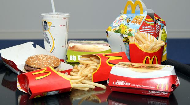 McDonald's reported global sales at established outlets fell 2.2 per cent last month