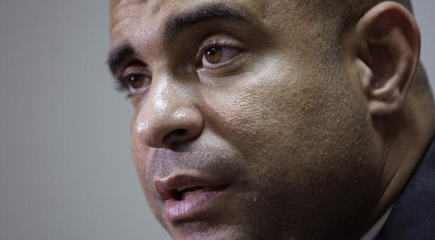 Laurent Lamothe is resigning in the wake of violent anti-government protests (AP)