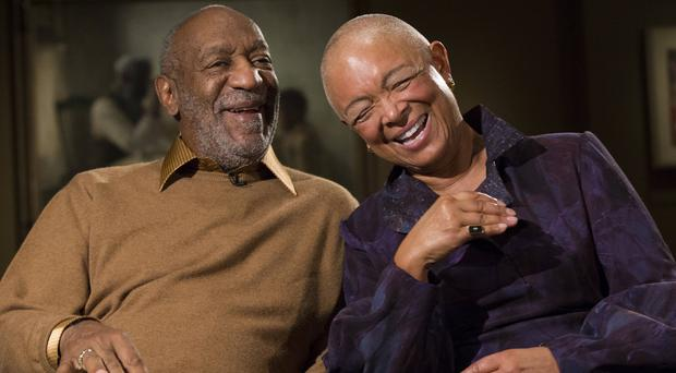 Camille Cosby, pictured with husband Bill, has defended the entertainer against sex assault claims (AP)