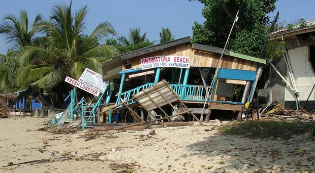 The 2004 Indian Ocean tsunami killed 230,000 people in 14 countries