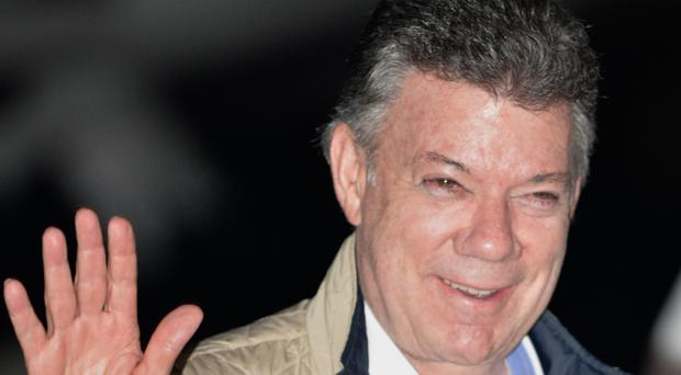 President Juan Manuel Santos said he would continue to fulfil his constitutional duty to protect and guarantee the safety of all Colombians