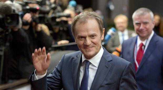 Donald Tusk said EU members must agree a 'responsible' policy in its dealings with Russia