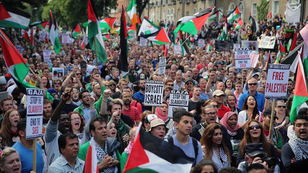 The summer war in Gaza sparked mass protests all over the world