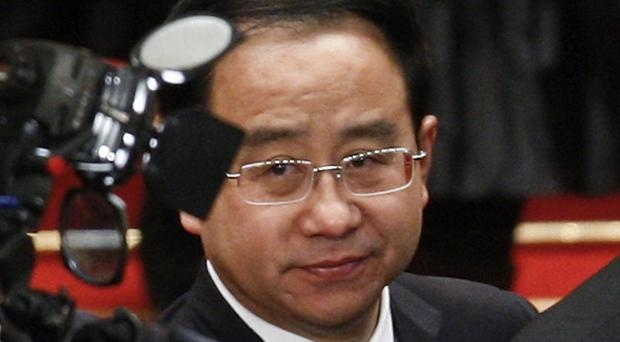 Ling Jihua fell out of political favour amid a lurid scandal involving his alleged cover-up of his son's death in a speeding Ferrari (AP)