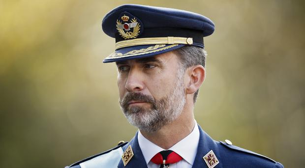 Spain's King Felipe VI is set to deliver his Christmas Eve speech to the nation (AP)