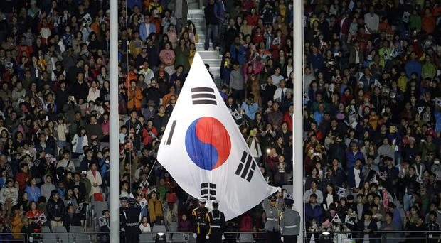 The men were working on the construction of a nuclear plant in South Korea
