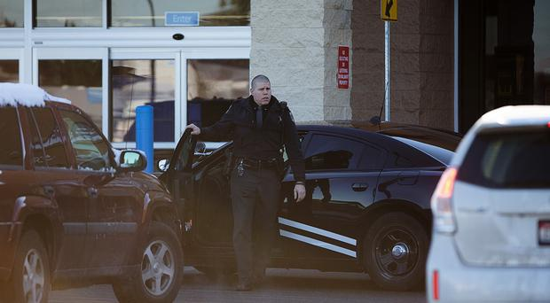 The Walmart where a two-year-old boy accidentally shot and killed his mother (AP/Coeur d'Alene Press)