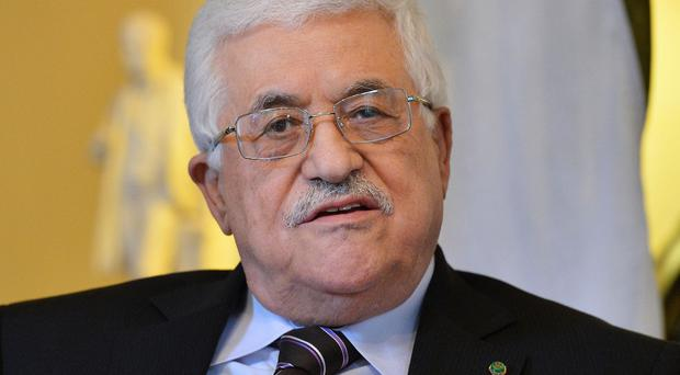 Mahmoud Abbas signed the documents submitted to the United Nations