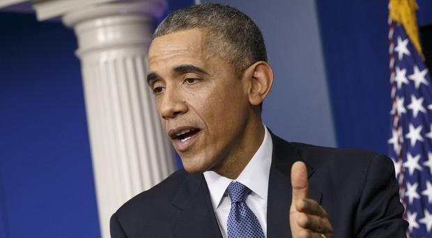 US President Barack Obama promised that his administration would respond to the hacker break-in at Sony Pictures Entertainment