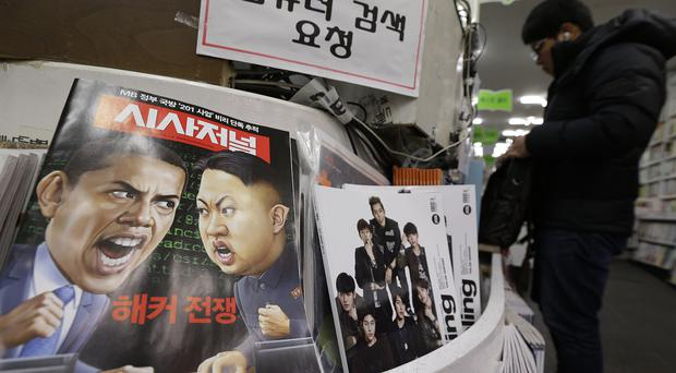 North Korea is furious with the US over sanctions imposed following the cyber-attack against Sony (AP)