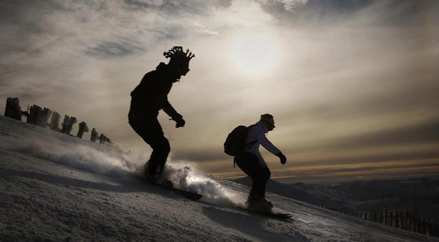 Two prospects from the US ski team have been killed in an avalanche while skiing