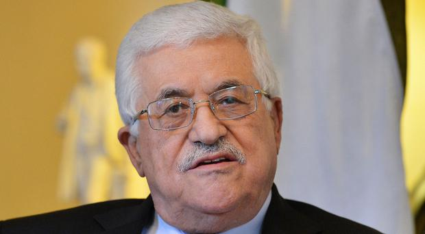 Palestinian leader Mahmoud Abbas wants Israel to withdraw from certain territories