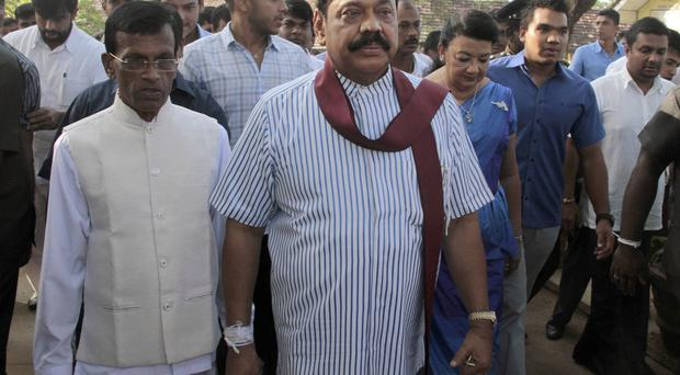 Mahinda Rajapaksa had until recently been expected to win his third term in office