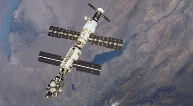 There has been an ammonia leak at the International Space Station, the Russian space agency said (Nasa/PA)
