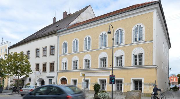 Adolf Hitler's birth house in Braunau am Inn, Austria (AP)
