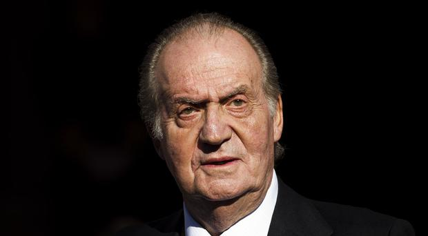 When he was king, Juan Carlos was immune from criminal prosecution and civil lawsuits (AP)