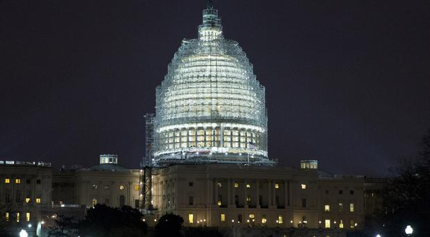 A man has been arrested over a terror plot to attack the US Capitol (AP)