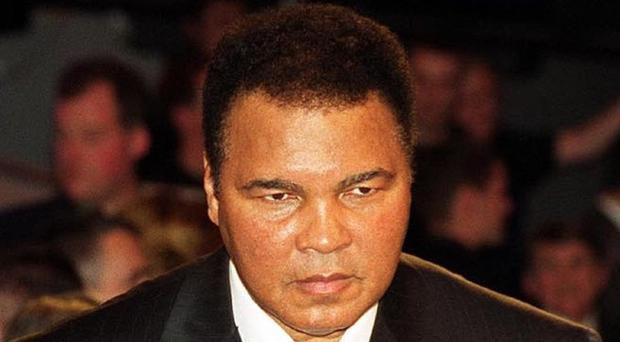 Muhammad Ali has been taken back to hospital for follow-up care