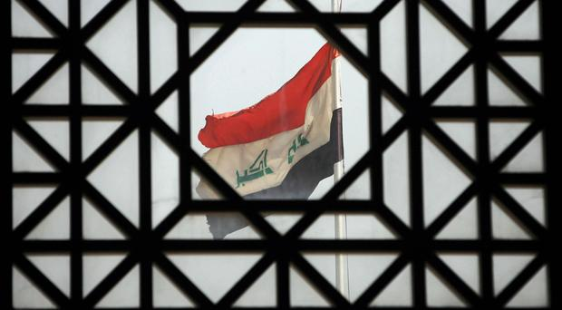 Two bombings have killed nine people in busy markets near Baghdad, officials say.