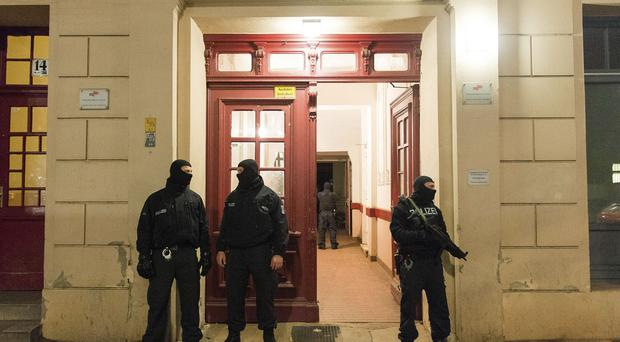 The raids of 13 residences was in connection with the arrests last week of two suspected members of an Islamic terror cell (AP/dpa)