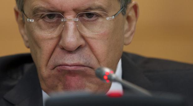 Russian foreign minister Sergey Lavrov said the withdrawal of artillery should help end a recent escalation of fighting (AP)