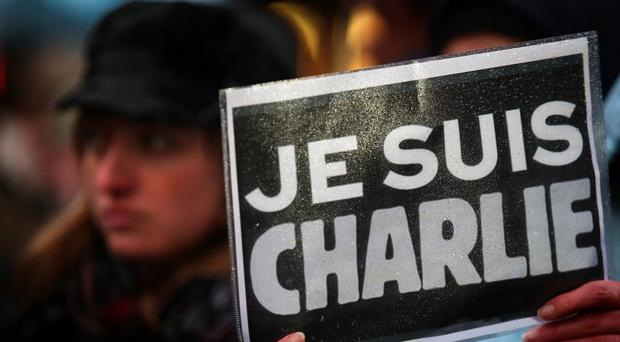 Je suis Charlie became a rallying cry after the terrorist attack in Paris