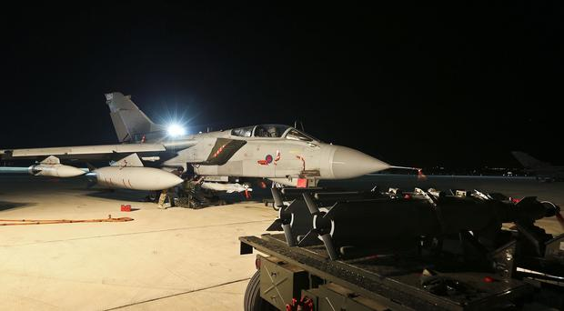 RAF Tornado GR4s have taken part in combat missions against Islamic State in northern Iraq