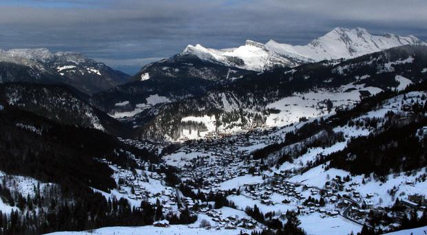 The bodies of six French skiers have been found a day after they were swept away by an avalanche in the French Alps.