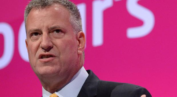 Mayor of New York City Bill De Blasio has warned about an impending snowstorm