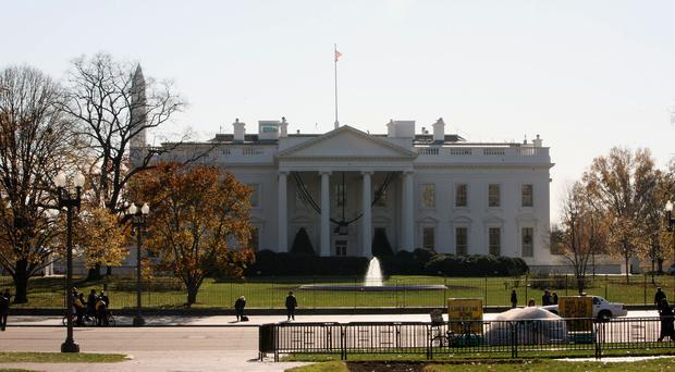 A 'device' has been recovered at the White House