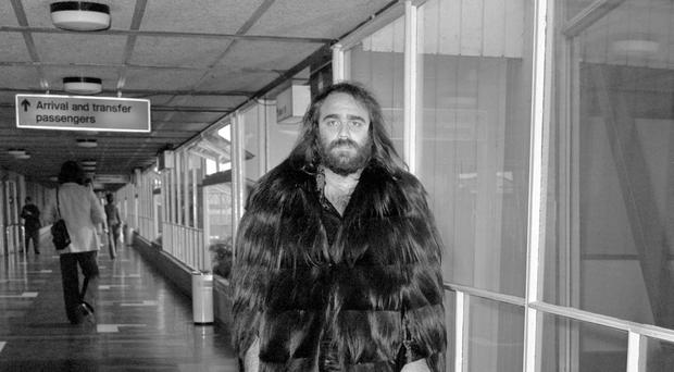 Greek singer Demis Roussos has died