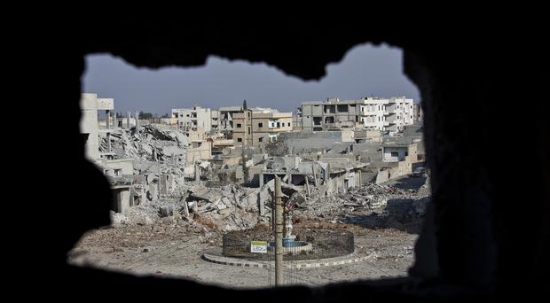 Kurds have expelled IS from Kobani in Syria. (AP)