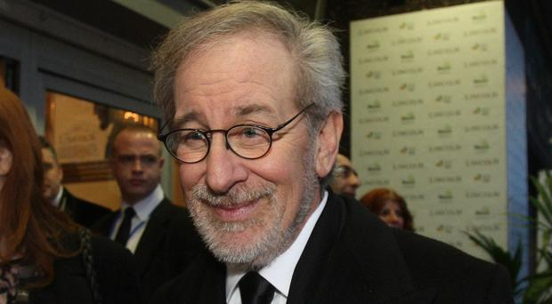 Steven Spielberg has travelled to Poland to mark the anniversary of the liberation of Auschwitz