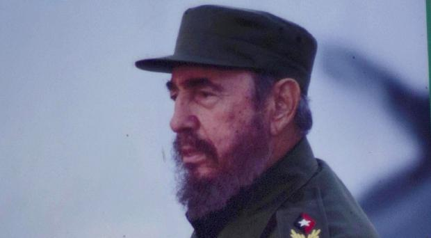 Former president Fidel Castro has spoken of the diplomatic thaw between the US and Cuba (AP)