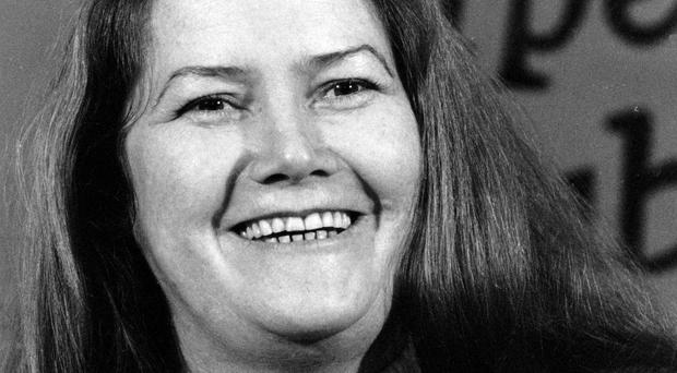 Australian-born author Colleen McCullough, pictured in 1977, has died aged 77 (AP)