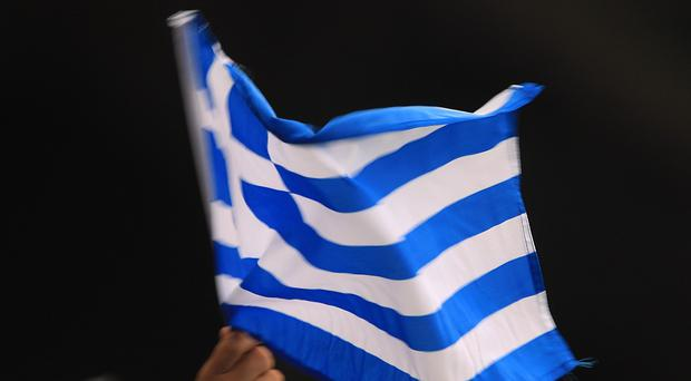 Eurozone officials are in Greece to discuss the bailout