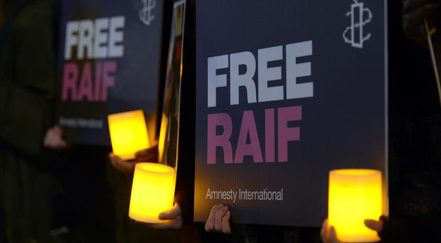 Amnesty International is supporting Raif Badawi