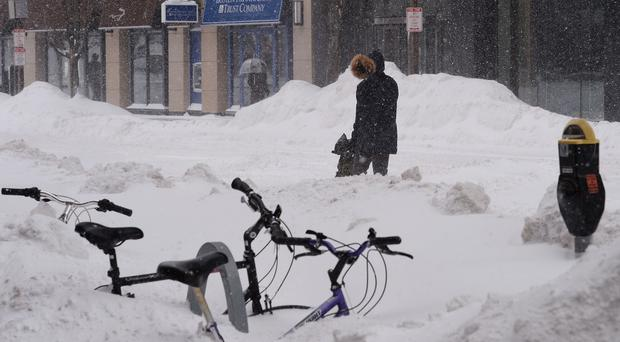 Boston suffered the worst snow fall in recent history