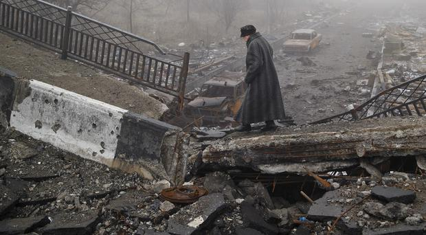 There has been heavy fighting in Donetsk (AP)