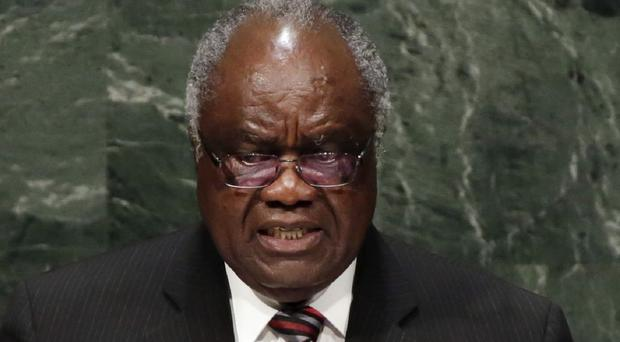 Namibian president Hifikepunye Pohamba has won the 2014 Ibrahim Prize for African leadership (AP)
