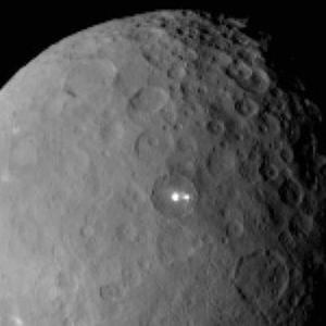 The dwarf planet Ceres pictured by Nasa's Dawn spacecraft from a distance of nearly 29,000 miles (AP/Nasa/JPL-Caltech/UCLA/MPS/DLR/IDA)