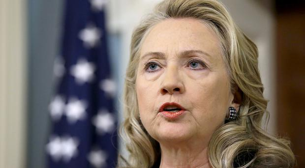 Hillary Clinton used a personal email account during her time as US secretary of state (AP)