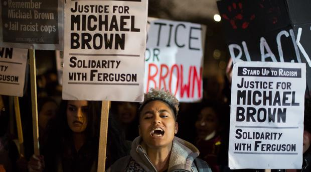 The shooting of Michael Brown in Ferguson, Missouri prompted demonstrations across the world