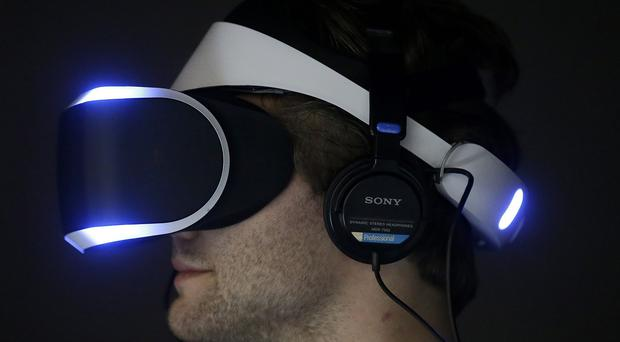 The Project Morpheus headset is designed to be compatible with Sony's PlayStation 4 console (AP)