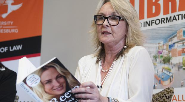 June Steenkamp, the mother of the late Reeva Steenkamp who was shot dead by her boyfriend Oscar Pistorius in 2013 (AP)