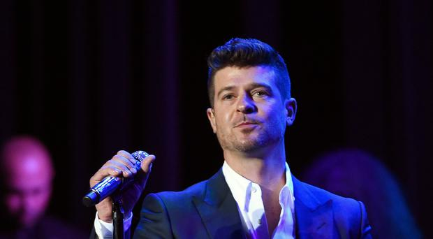Robin Thicke copied a Marvin Gaye song to create Blurred Lines